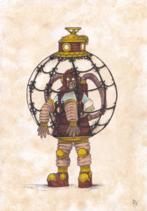 Steampunk Bubble Boy by Andrew JohnCraven